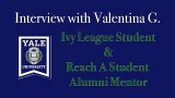Interview with Valentina G.