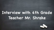 Interview with Mr. Shrake