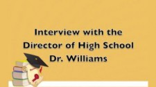 Interview with Dr. Williams