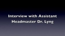 Interview with Dr. Lyng